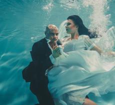 Matrimonio 2.0: macché Chiesa, adesso ci si sposa sott'acqua! - In a Bottle