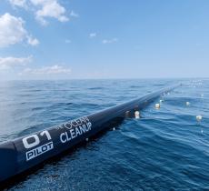 Ocean CleanUp, la barriera artificiale per pulire l'Oceano Pacifico