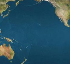 Oceano Pacifico: scoperta riserva d'acqua millenaria