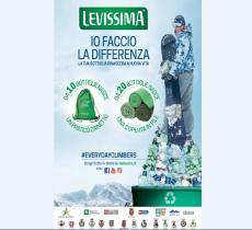 PET riciclato, parte la IV edizione di Levissima Snow Recycling