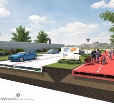 L'Olanda punta all'asfalto ecologico con plastica riciclata