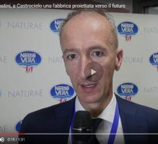 Castrocielo e nuovo sito Nestlé Vera: parla Agostini