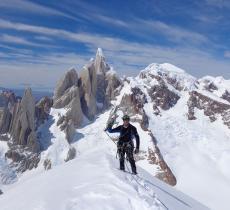Tomas Franchini, l'alpinista-esploratore che non riesce a fare a meno della montagna - In a Bottle