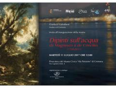 """A Cremona in mostra i """"Dipinti sull'acqua"""""""