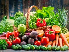Il rischio mortalità si riduce del 22% con frutta e verdura