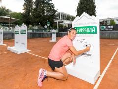 Levissima e Francesca Schiavone per lo strike tennis