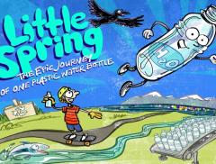 Little Spring, la vita di una bottiglia di plastica in un libro – In a Bottle
