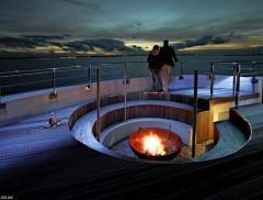 Spitbank Fort, resort di lusso in alto mare