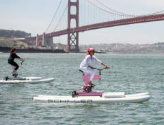 Water-bikers contro il traffico a San Francisco – In a Bottle