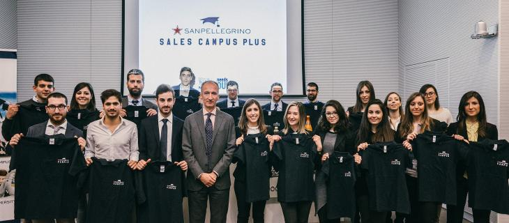 Terzo Sanpellegrino Sales Campus Plus di formazione per i giovani_alt tag