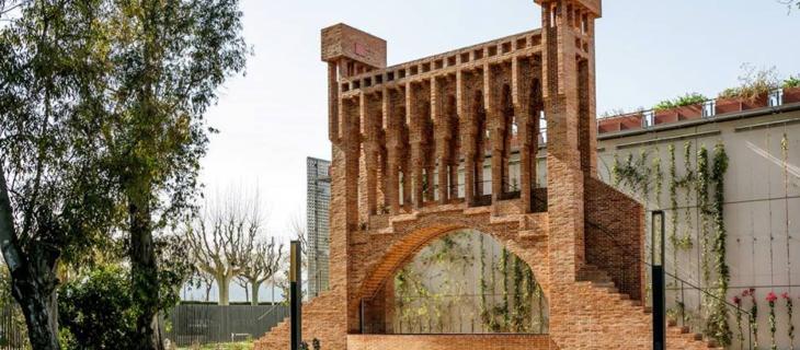 Barcellona, ricostruita la Fontana di Gaudí distrutta 70 anni fa - In a Bottle