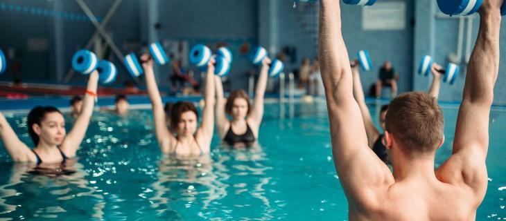 Tutti i benefici derivanti da un allenamento in acqua - In a Bottle