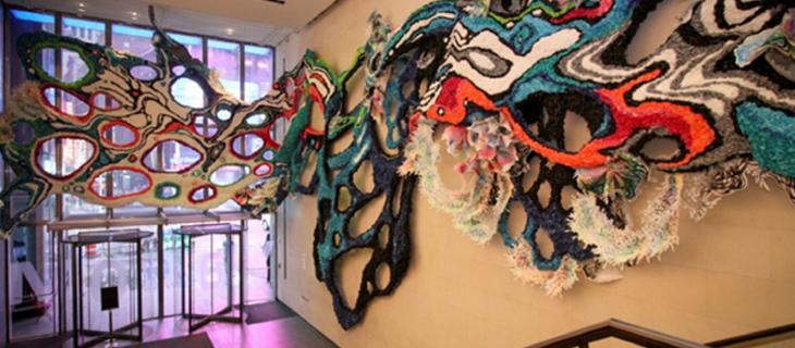 L'arte tridimensionale di  Crystal Wagner protagonista a Time Square