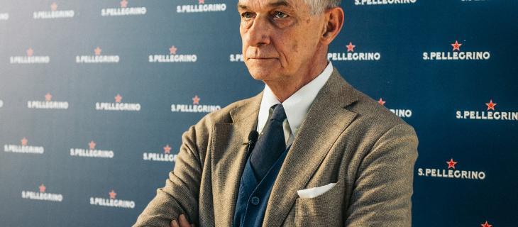 Cappellini parla del restyling della S. Pellegrino Factory