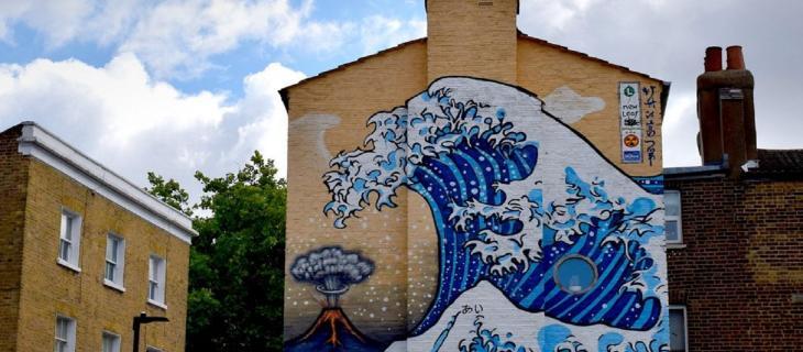 Come Hokusai ha ispirato la grande onda di Camberwell