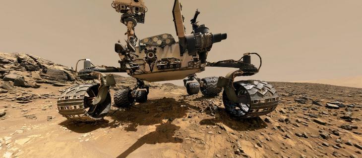 Marte, il rover Curiosity devia per non contaminare l'acqua alt_tag