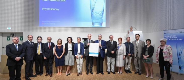 Da Expo parte la richiesta per l'istituzione della Giornata Nazionale dell'Idratazione