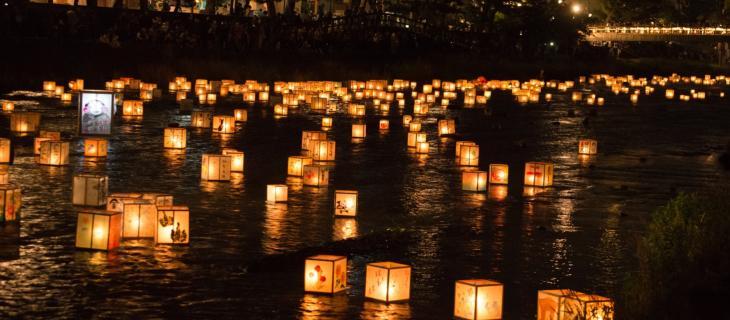 Tutto pronto in America per il Festival delle lanterne d'acqua - In a Bottle