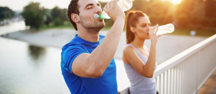 Giornata Mondiale dello Sport, l'importanza di bere per un atleta - In a Bottle