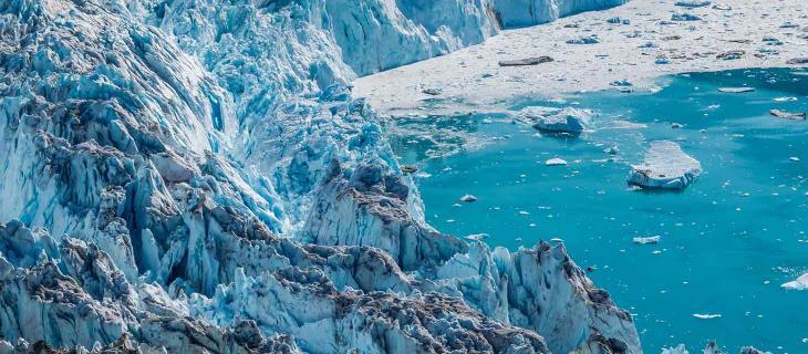 Groenlandia, lo scioglimento dei ghiacci provoca l'aumento del livello dei mari - In a Bottle