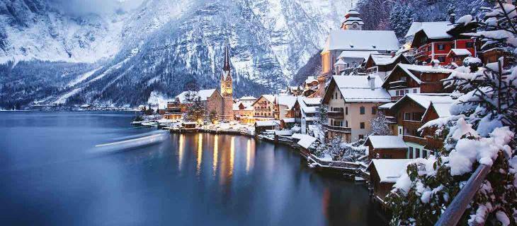 Hallstatt, il piccolo borgo austriaco fonte d'ispirazione di Frozen - In a Bottle