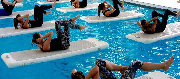 Il Float Fit: la tendenza fitness 2017