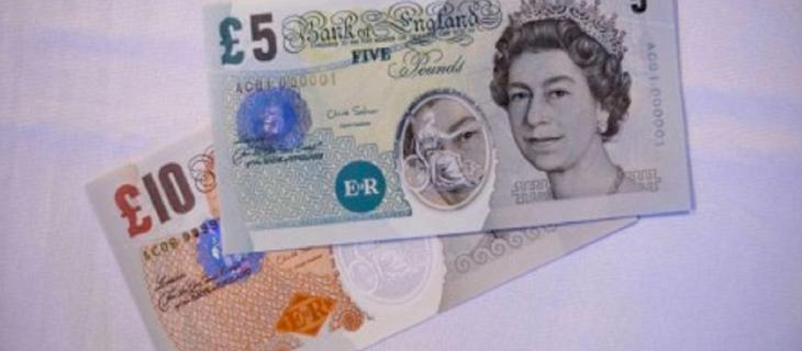 In Inghilterra arrivano le banconote di plastica