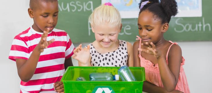 In Inghilterra il riciclo si impara a scuola
