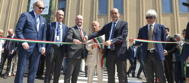 inaugurazione stabilimento Nestlé Vera Castrocielo