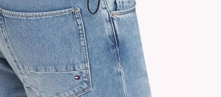 Arrivano i jeans con le cuciture in plastica riciclata - In a Bottle
