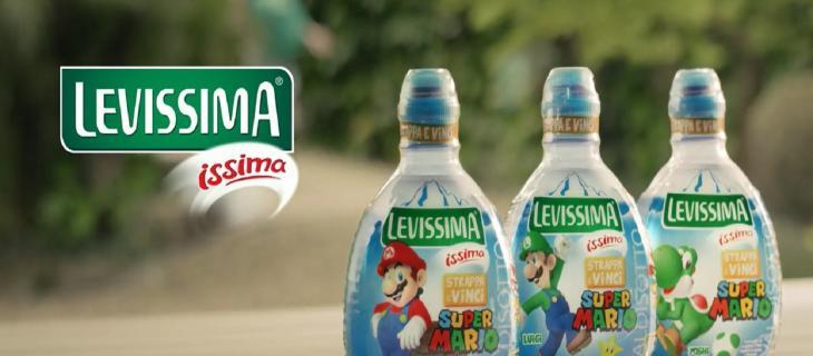 Levissima: una limited edition per i 30 anni di Super Mario Bros