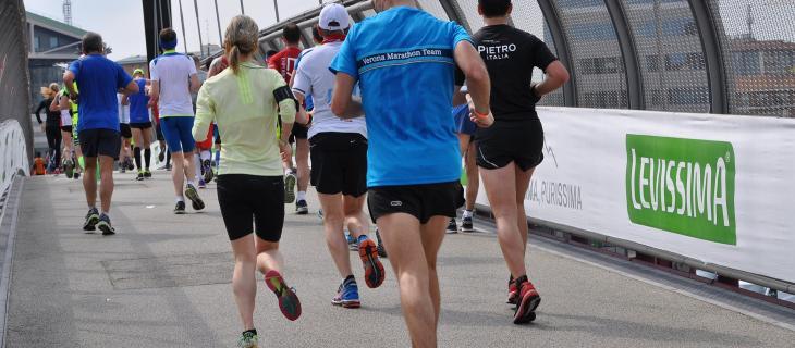 Levissima acqua ufficiale della 17° EA7 Milano Marathon