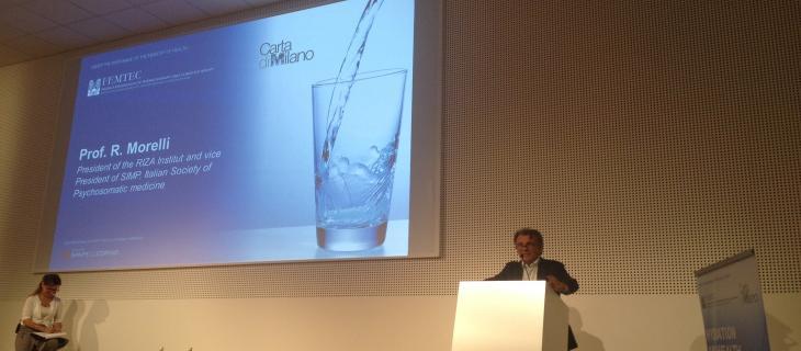 Raffaele Morelli, la mente ha bisogno di acqua