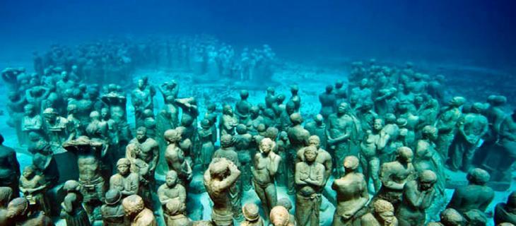 Musa, il museo sottomarino di Cancun