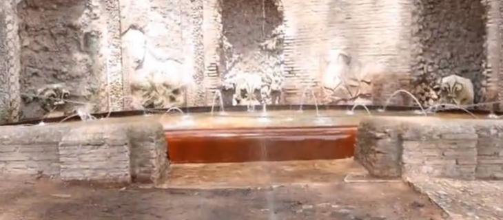 Roma, torna a zampillare il Ninfeo degli Specchi al Palatino - In a Bottle