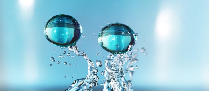 Particelle d'acqua: arrivano nuove scoperte