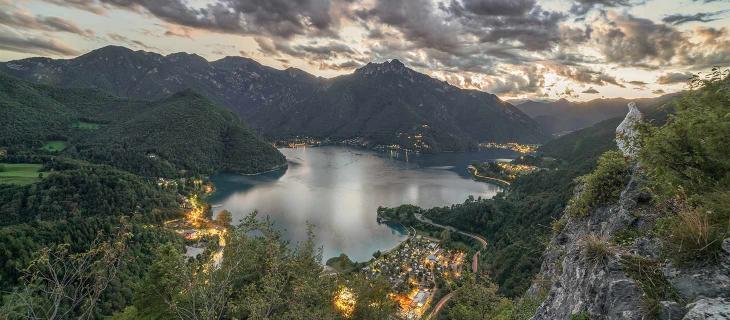 Riscaldamento globale e temperature troppo alte, il Lago di Levico non si ghiaccia più - In a Bottle