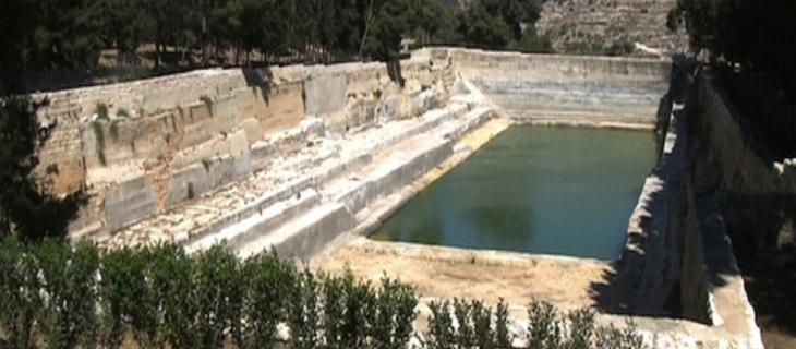 Ristrutturate piscine risalenti al tempo di Gesù
