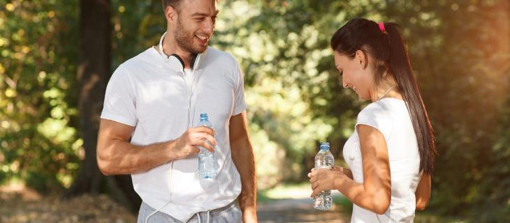 Nasce runtastic, l'app che dice ai runners quanta acqua bere; una semplice operazione matematica per evitare la disidratazione