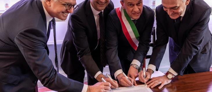 Sanpellegrino firma a Scarperia un Protocollo d'Intesa con la Regione Toscana