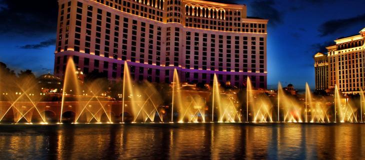 Spettacolo d'acqua a Las Vegas per Il Trono di Spade - In a Bottle