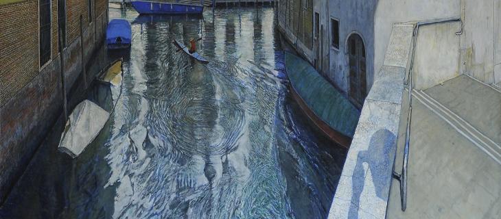 A Venezia la mostra di Tom Parish Il polso dell'acqua