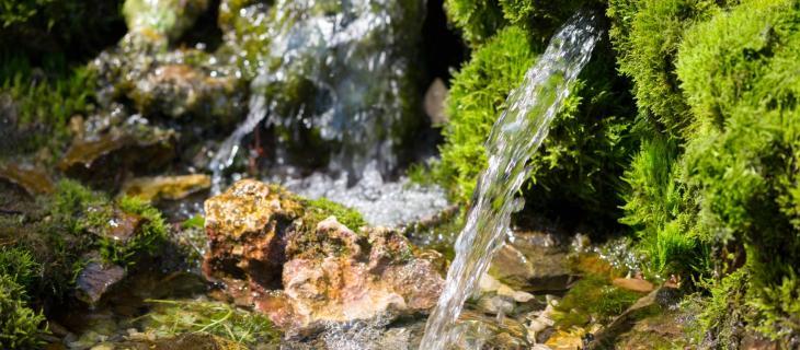 Scienziati pubblici misurano i livelli delle acque della sorgente Nestlé Waters di Osceola Township, nel Michigan - In a Bottle