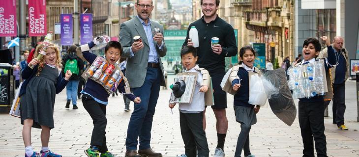 Zero Waste Scotland: il rugby in campo per il riciclo